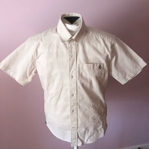 Volcom short sleeve button down.